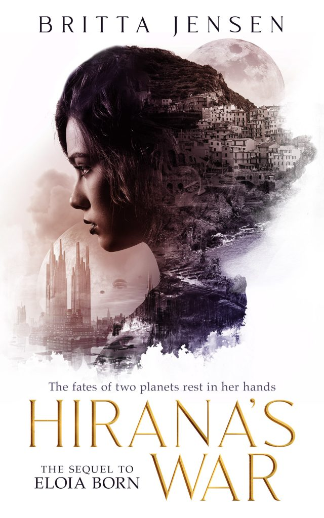 the cover of Eloia Born's sequel, Hirana's War