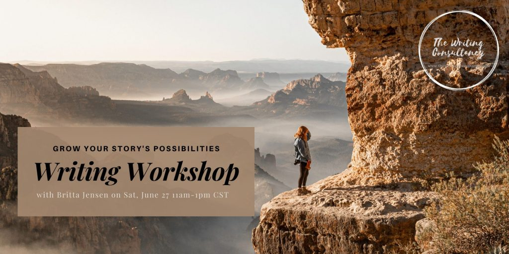 Online Writing Class with Britta Jensen